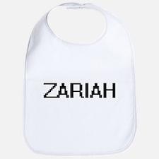 Zariah Digital Name Bib