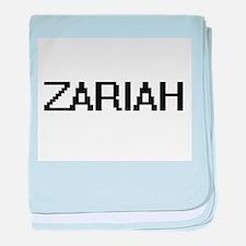 Zariah Digital Name baby blanket