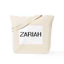 Zariah Digital Name Tote Bag