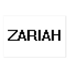 Zariah Digital Name Postcards (Package of 8)