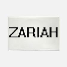 Zariah Digital Name Magnets