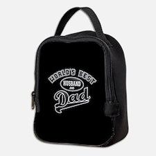 Best Husband/Dad Neoprene Lunch Bag