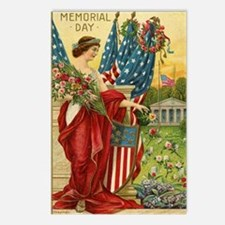 Vintage Memorial Day Postcards (Package of 8)