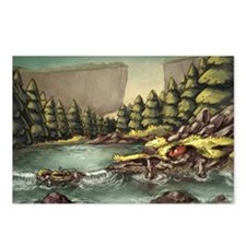 Mystery Dragon Postcards (Package of 8)