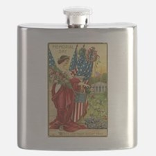 Vintage Memorial Day Flask
