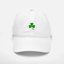 3 Leaf Kelly Green Shamrock with Stem Baseball Baseball Cap