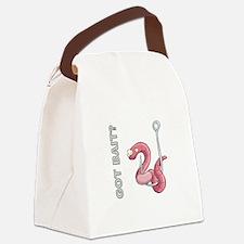 GOT BAIT? Canvas Lunch Bag