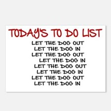 TODAY'S TO DO LIST Postcards (Package of 8)