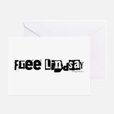 Free Lindsay #2 Greeting Card
