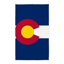 Colorado Flag Area Rug
