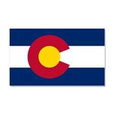 Colorado Flag Car Magnet 20 x 12