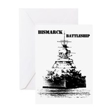 Bismarck Battleship Greeting Card