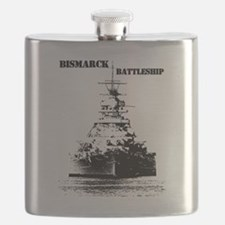 Bismarck Battleship Flask