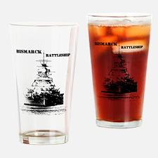 Bismarck Battleship Drinking Glass