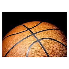 Basketball Ball Poster