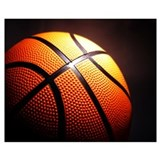 Basketball Wrapped Canvas Art