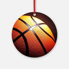 Basketball Ball Round Ornament