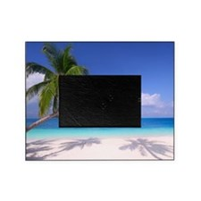 Tropical Beach Picture Frame
