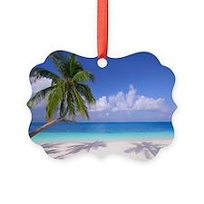 Tropical Beach Ornament