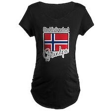 World's Greatest Norwegian Grandpa T-Shirt