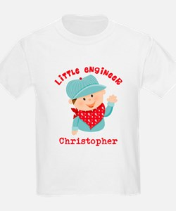 Little Engineer Personalized T-Shirt