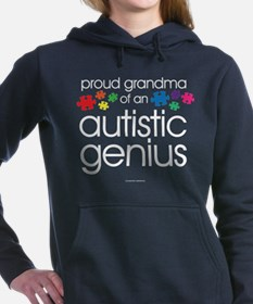 Proud Grandma Autistic G Women's Hooded Sweatshirt