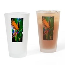 Jurassic Paradise Drinking Glass
