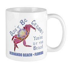 Don't Be Crabby Small Mug