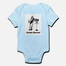 Jesus Saves! Body Suit