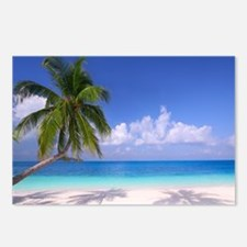 Tropical Beach Postcards (Package of 8)