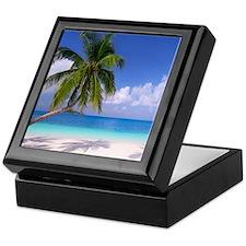 Tropical Beach Keepsake Box