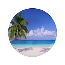 Tropical Beach Button