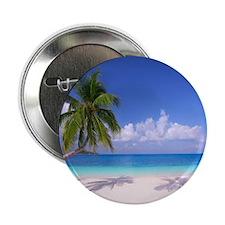 """Tropical Beach 2.25"""" Button (100 pack)"""