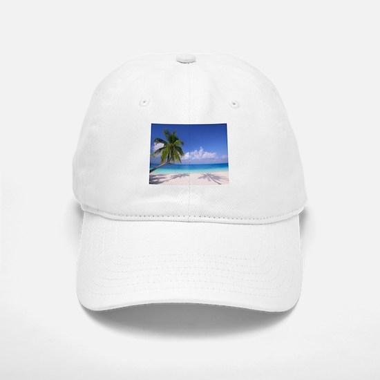 Tropical Beach Baseball Cap