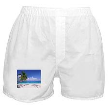 Tropical Beach Boxer Shorts