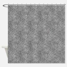 Concrete Pattern Shower Curtain