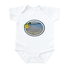 Sarah Just Maui'd Infant Bodysuit