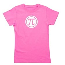 Pi In A Circle 3.14 Girl's Tee
