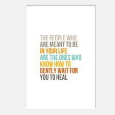 Meant To Be Postcards (package Of 8)