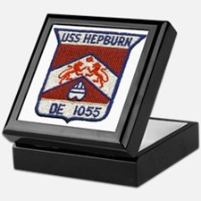 USS HEPBURN Keepsake Box