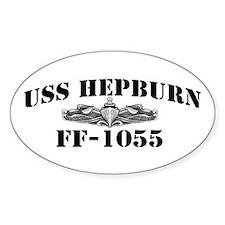 USS HEPBURN Decal