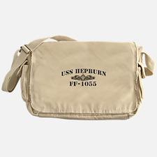 USS HEPBURN Messenger Bag
