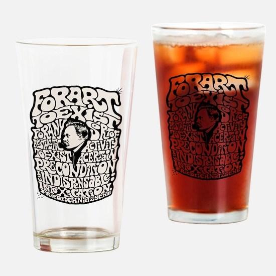 Nietzsche Art 0315 Drinking Glass