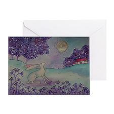 Cute Hare Greeting Card