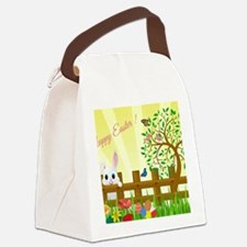 Happy Easter Bunny  Canvas Lunch Bag