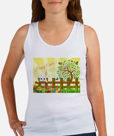 Happy Easter Bunny Tank Top