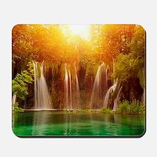 Beautiful Waterfalls Mousepad