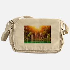Beautiful Waterfalls Messenger Bag