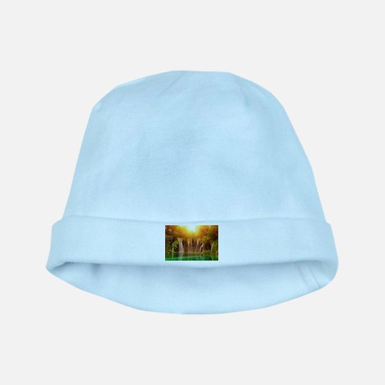 Beautiful Waterfalls baby hat