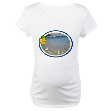 Lori Just Maui'd Maternity T-Shirt